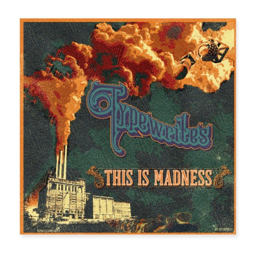 This Is Madness Album Cover - Poster 20x20 cm