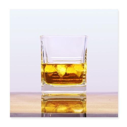 Whisky - Plakat o wymiarach 20 x 20 cm