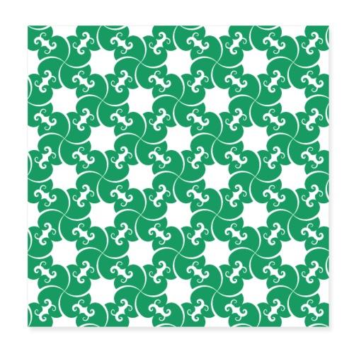 Saint Patrick - Poster 20 x 20 cm