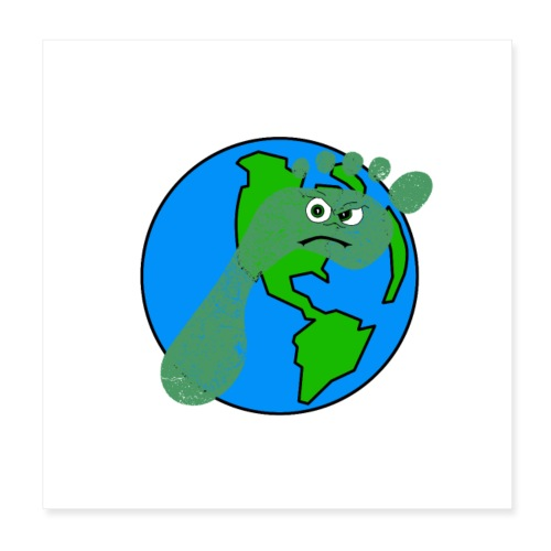 Earth Day Every Day - Poster 20x20 cm