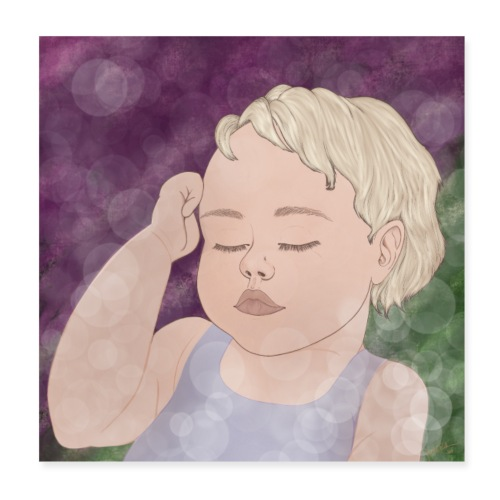 Dream Babygirl - Poster 20x20 cm