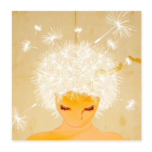 Pusteblume - Poster 20x20 cm