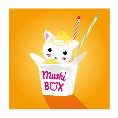 Mushi Box - Poster 20x20 cm