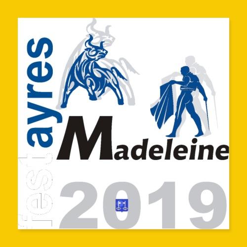 MADELEINE2019 - Poster 40 x 40 cm