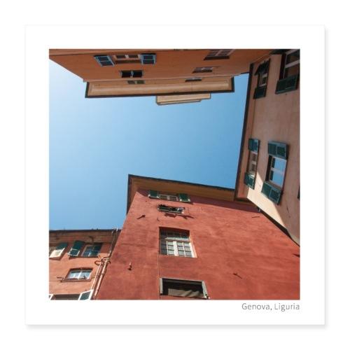 Ciel de Gênes - Poster 40 x 40 cm