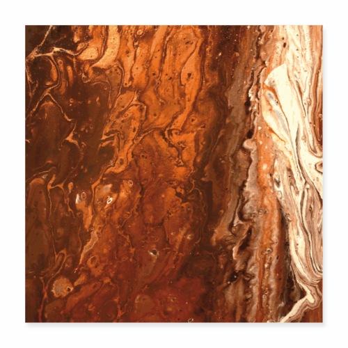 Copperwood - Poster 40x40 cm