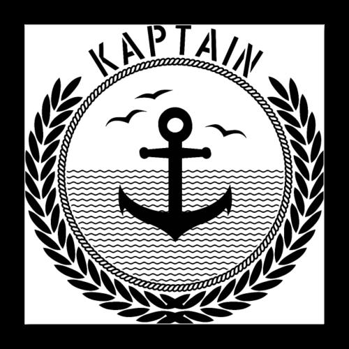 Kaptain - Anchor - Poster 40x40 cm