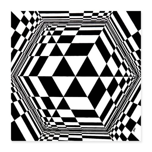 cube - Poster 40 x 40 cm