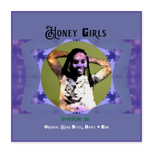 Honey girls poster [size 1] - Poster 40x40 cm
