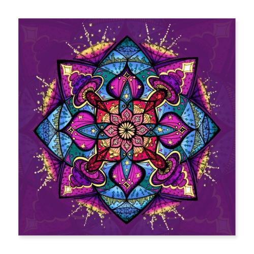 SoulArt Mandala Inspiration - Poster 40x40 cm