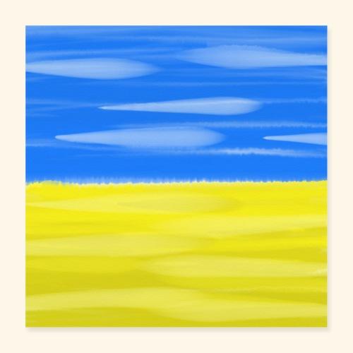 Scanian Landscape - Poster 40x40 cm