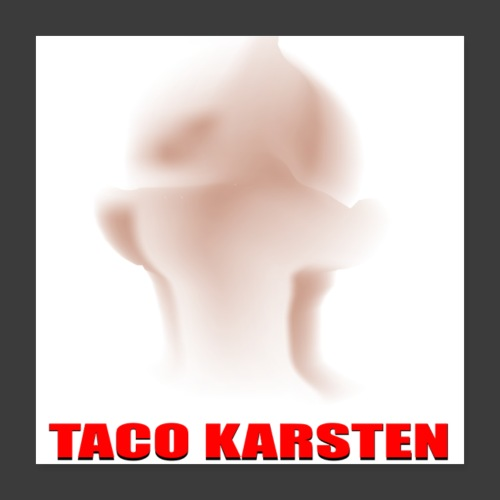 Taco Karsten Skaldet - Poster 40x40 cm