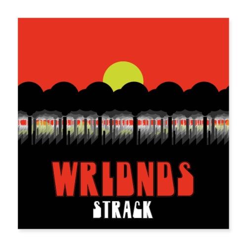 WRLDNDS - Poster 40x40 cm