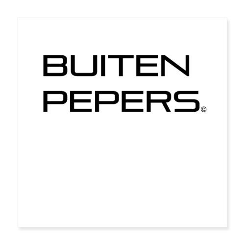 Buitenpepers - Poster 40x40 cm