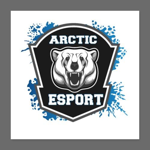 Arctic Esport Team Logo - Poster 16 x 16 (40x40 cm)
