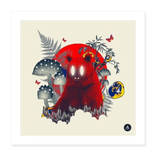 Red Specter - Poster 16 x 16 (40x40 cm)