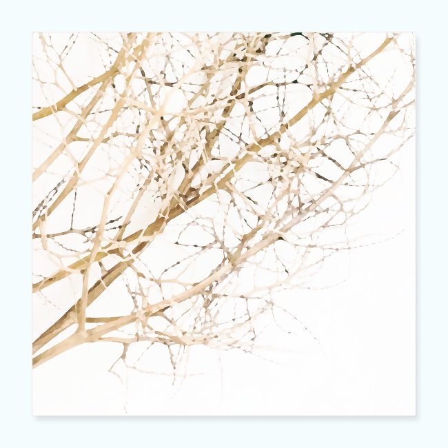 Grass beige minimalism watercolor nature