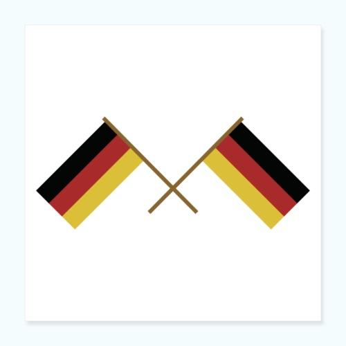 Deutschland - Poster 16 x 16 (40x40 cm)