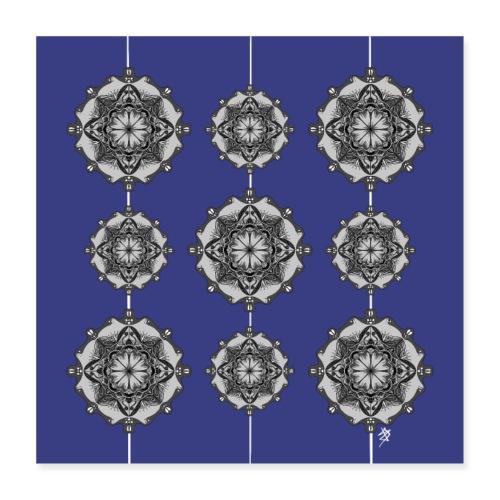 Mandala Wall - Poster 40 x 40 cm