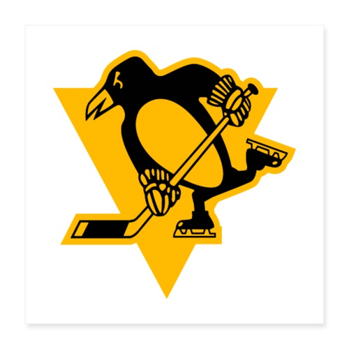Pittsburgh Penguins Stadium Series Logo PIT - Juliste 40 x 40 cm