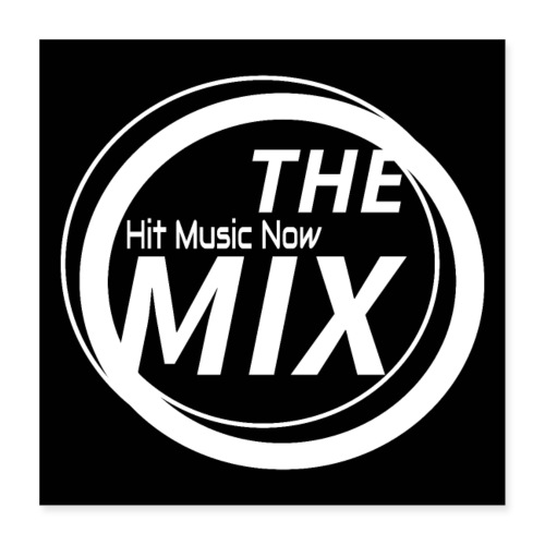 THE MIX - Hit Music Now - Poster 40x40 cm