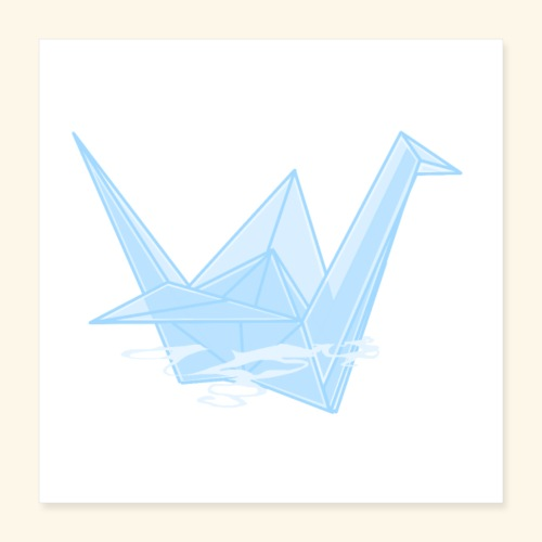 crane - Poster 40x40 cm