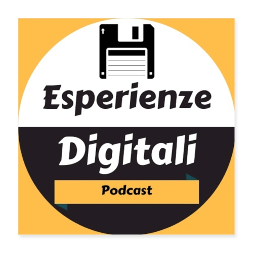 Logo Esperienze Digitali - Poster 40x40 cm