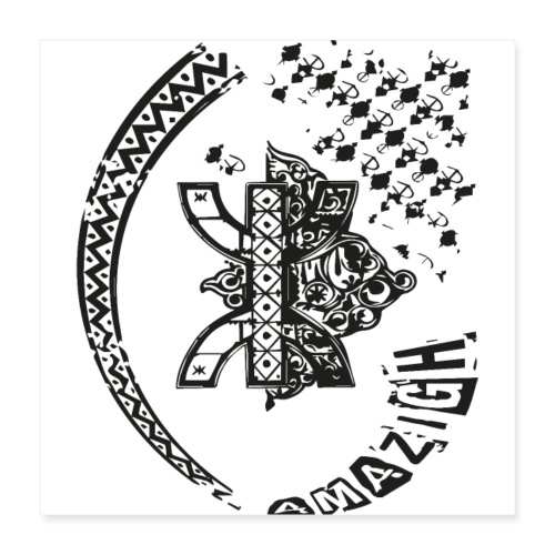 amazigh - Poster 40 x 40 cm