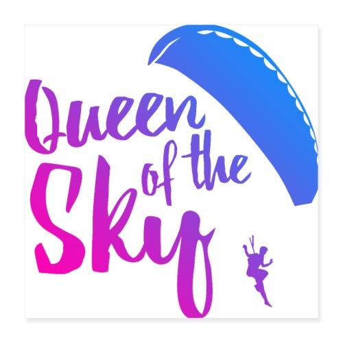 Queen of the Sky - Poster 40x40 cm