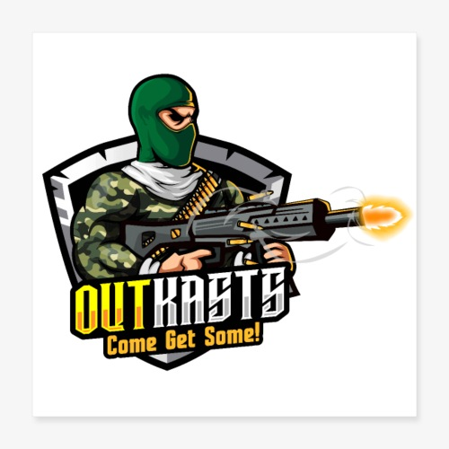 OutKasts [OKT] Logo 1 - Poster 16 x 16 (40x40 cm)