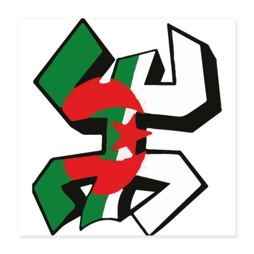 algérien - Poster 40 x 40 cm