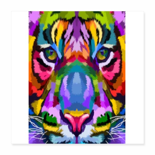 lion colors - Poster 40 x 40 cm