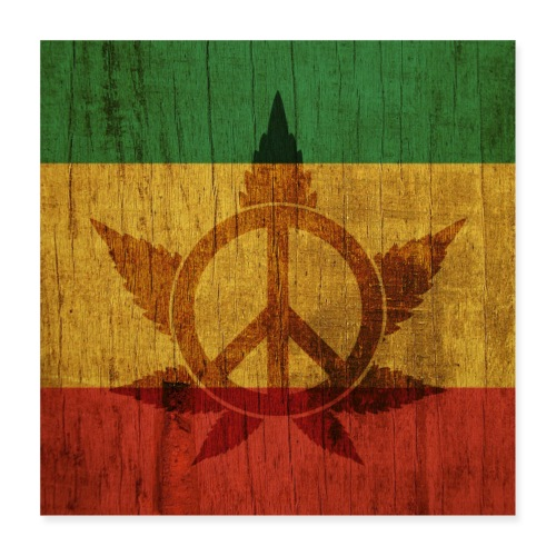 Peace Poster - Poster 40x40 cm
