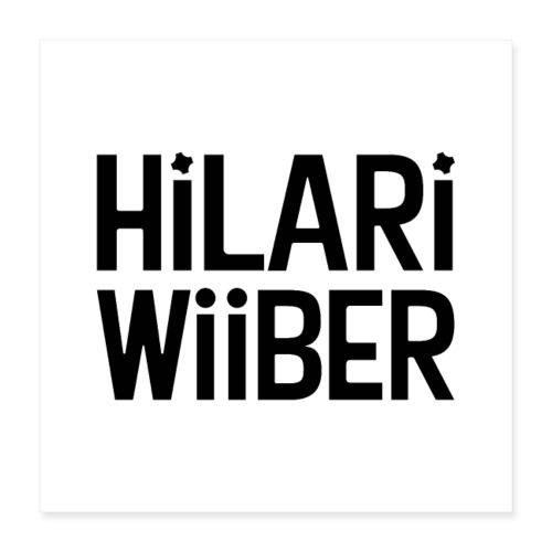 Hilari Wiiber Family - Poster 40x40 cm