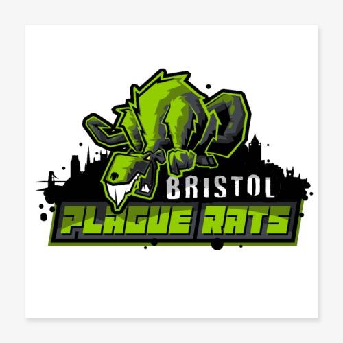 Bristol Plague Rats - Poster 16 x 16 (40x40 cm)