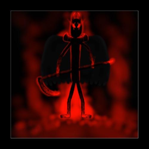 Corrupted Nightcrawler - Poster 16 x 16 (40x40 cm)