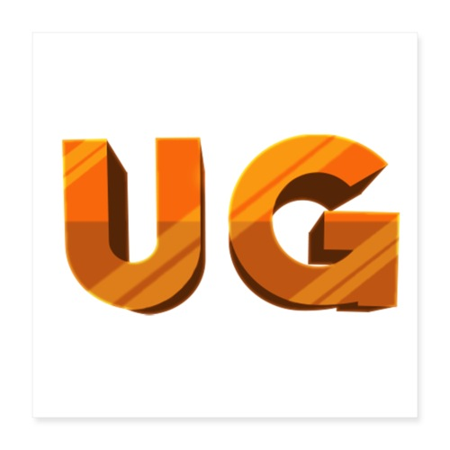 UnfireGames - Poster 40x40 cm
