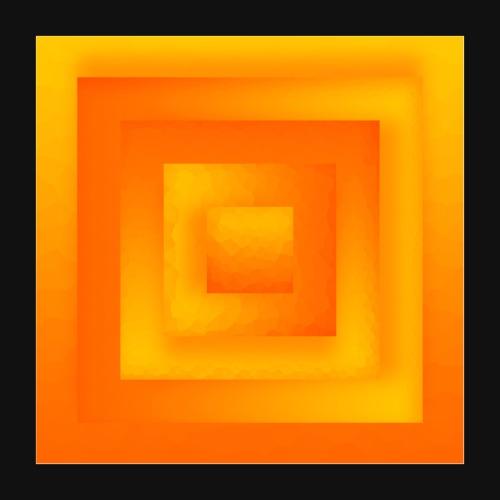 Sun Cube - Poster 40x40 cm