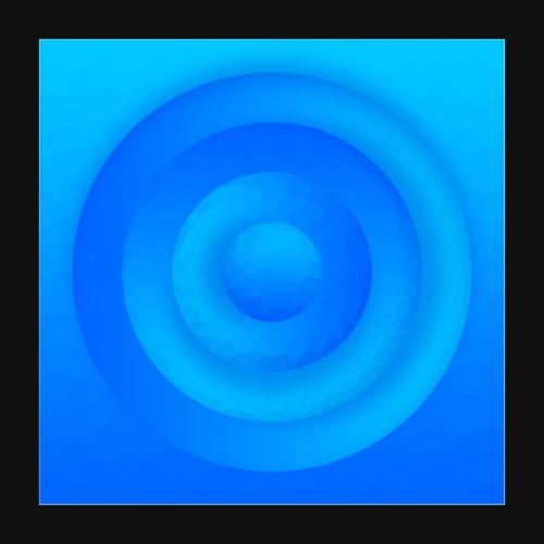 Water Circle - Poster 40x40 cm