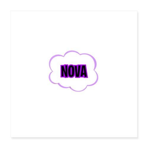 Nova's Logo - Poster 16 x 16 (40x40 cm)