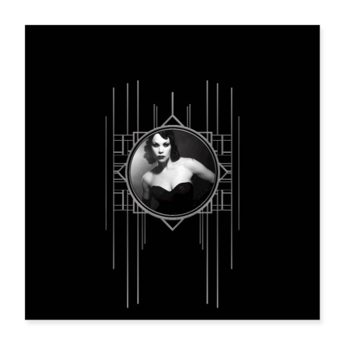 Femme Fatale Xarah Design 2 - Poster 16 x 16 (40x40 cm)