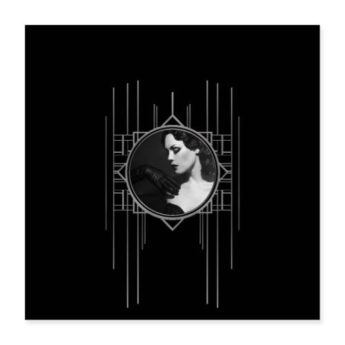 Femme Fatale Xarah Design 3 - Poster 16 x 16 (40x40 cm)