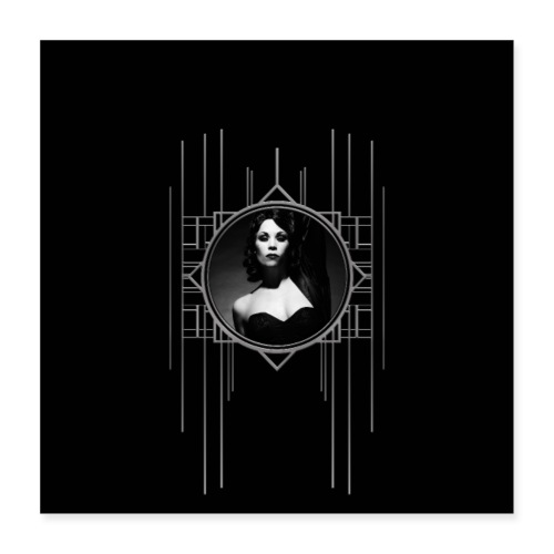 Femme Fatale Xarah Design 1 - Poster 16 x 16 (40x40 cm)