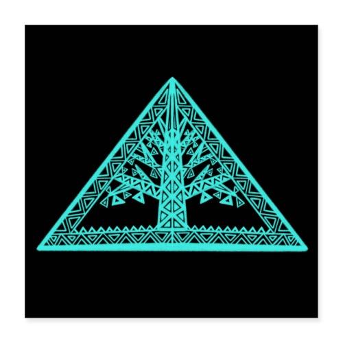 Lebensbaum - Poster 40x40 cm