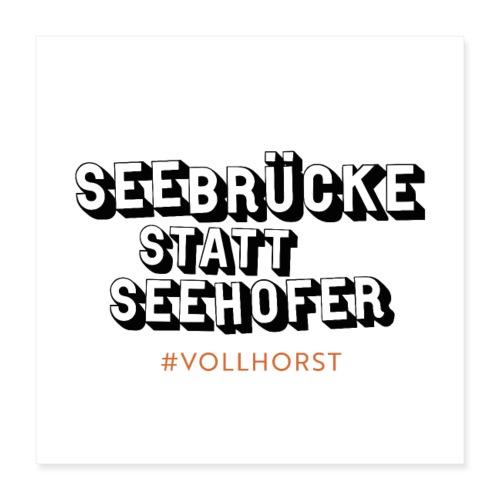 Vollhorst - Poster 40x40 cm