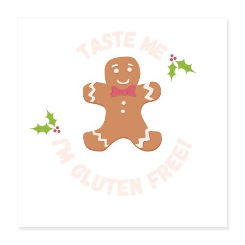 Taste me Christmas - Poster 40x40 cm