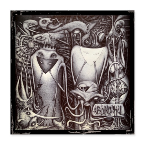 Abbinormal.....GrindCore Metal Band - Poster 40x40 cm