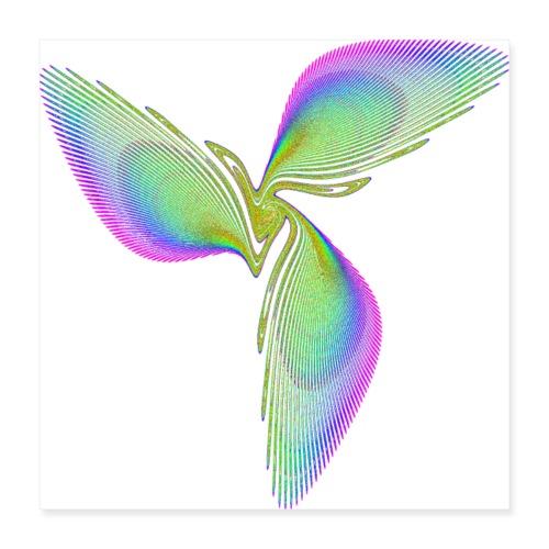 Bird of Paradise Icarus 3318grbw_p - Poster 16 x 16 (40x40 cm)
