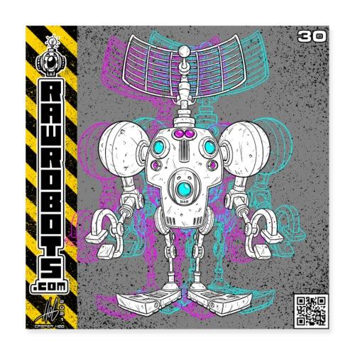 The S.E.E K. Robot! - Poster 40x40 cm