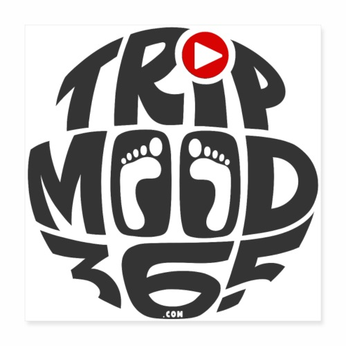 TRIPMOOD365 Traveler Clothes and Products - Juliste 40 x 40 cm